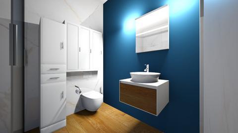 Lazienka dol Mickiewicza2 - Bathroom  - by asiaczerniawska