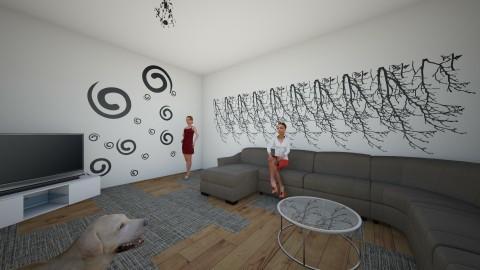 sdfghjkl - Living room - by Erica Jane