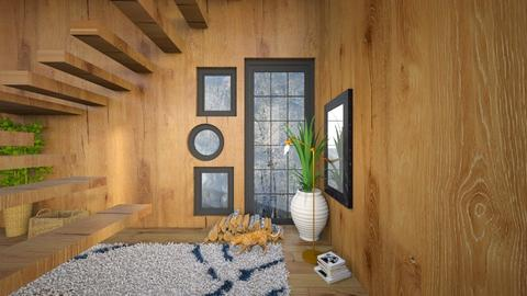 stair Warm little nook - Rustic - by housedec