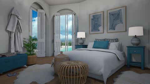 Modern Greek - Bedroom  - by Tuija