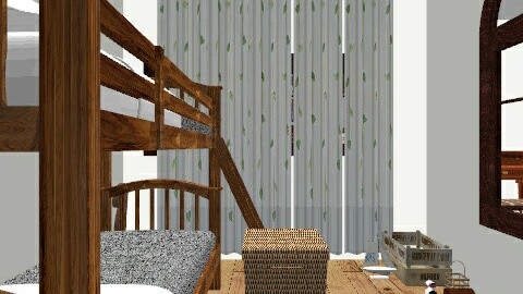 bunk beds and cabins - Rustic - by bee658