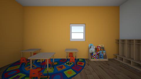 Preschool room - by ZGRZERVBUCXREVHLBYTJQUPXZEXWDMU