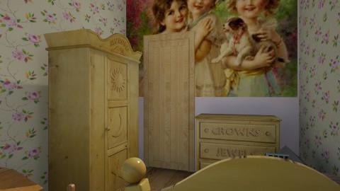 Prinsessenslaapkamer  - Vintage - Kids room - by Brigitte Rehatta