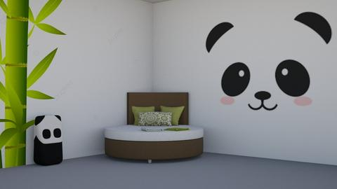 S I M P L E panda room - Kids room  - by Aristar_bucks