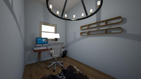 Equestrian Style Office - Eclectic - Office  - by leslie mead