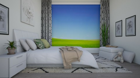 Quiet View - Modern - Bedroom  - by stephendesign
