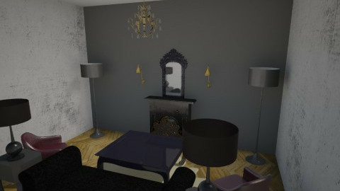 liv1 - Retro - Living room  - by yamaha2996