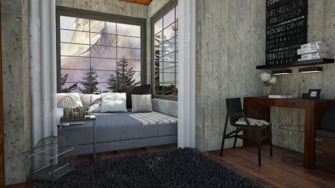 To ponder - Modern - Bedroom - by nephelou