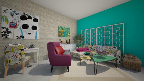mau - Living room - by Tijana91