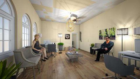 rd agencia - Modern - Office  - by roxanadavid23