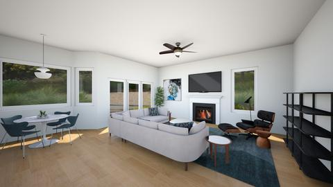 Brian and Nicole family - Living room  - by DWRWestport