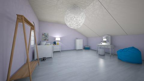 KKEOV - Vintage - Bedroom  - by berebonita