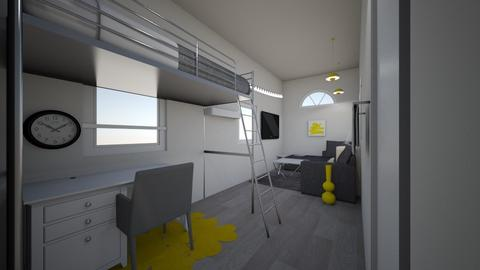 Modern Tiny House BR - Modern - Bathroom  - by ellephante11