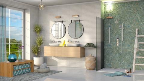 M_ Aqua - Bathroom  - by milyca8