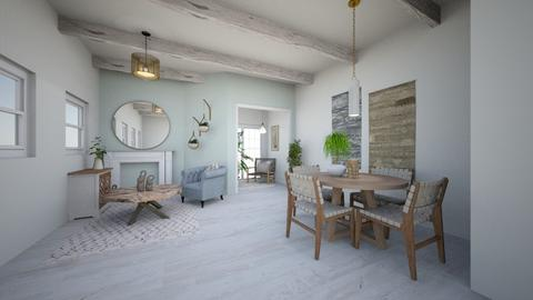 Dim - Classic - Living room  - by evabarrett