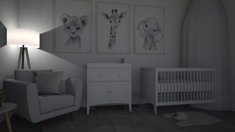 nursery  - Kids room  - by allyramakers