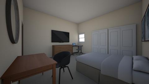 room bed - Bedroom  - by bohemaledesing