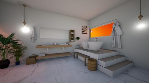 bathroom sunset - Bathroom  - by Ema 123456