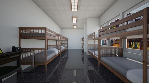 Hostel V2 - Bedroom  - by SammyJPili