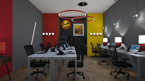Bauhaus student room - Office  - by rechnaya