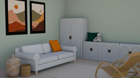 Basic and simple  - Minimal - Living room  - by milk07Designs