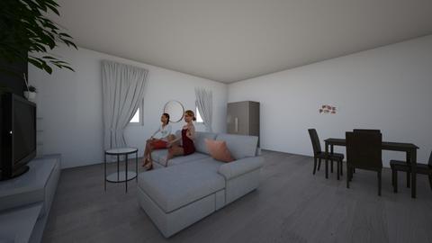 Woonkamer Janis en Morgan - Living room  - by janismorgan