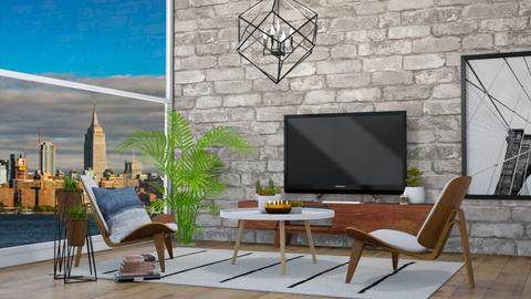 city view - Modern - Living room - by molly_designs
