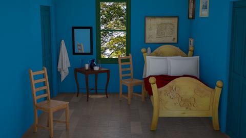 Van Gogh Bedroom - Bedroom  - by Whitney VanManen