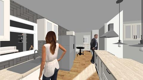 With Thinner Laundry - Kitchen  - by maggiehall