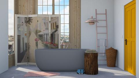 Eclectic bathroom - Eclectic - Bathroom  - by HenkRetro1960