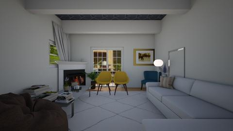 Neat Summer home - Rustic - Living room  - by greekgirl37