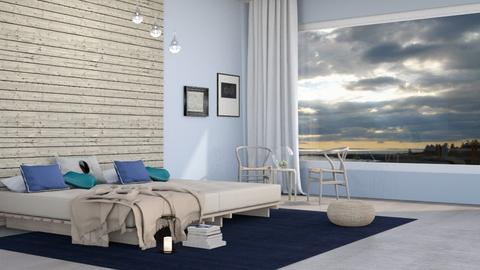 Nautical Bedroom - Eclectic - Bedroom  - by fashionistafalida