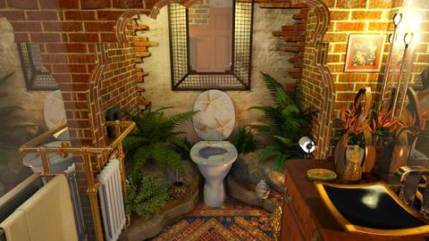 ARTY Toilet - Vintage - Bathroom  - by ZsuzsannaCs