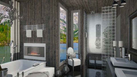 Mountain Bathroom Contest - Bathroom  - by susilva