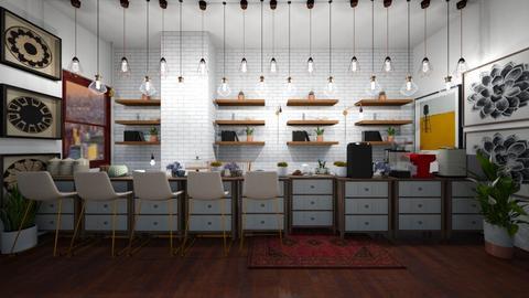 Coffee Shop - by Stella H
