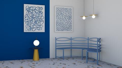 Blue Corner - by massa_camila