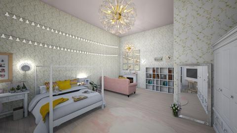 Luna Lovegood - Bedroom  - by denizoden
