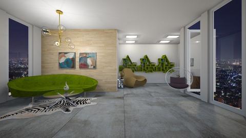book room - Living room  - by karliestarcevich