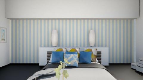 second bed room 3 - Glamour - Bedroom  - by Nourhaan Adel