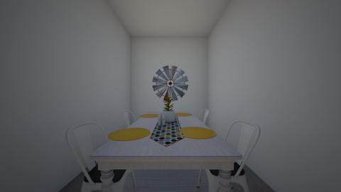 farm dinnig - Rustic - Dining room - by LeLebear