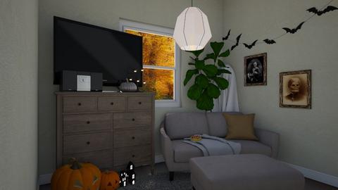 Halloween - Living room  - by SydTheKid4