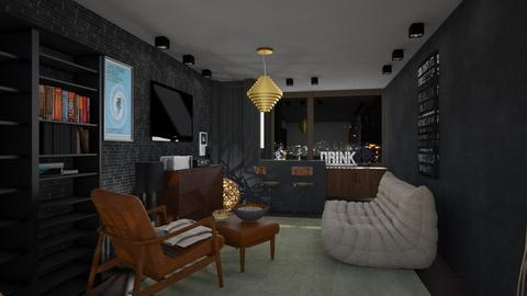 House Bar - Retro - by tolo13lolo