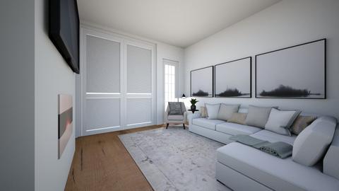 Lounge Wood Floor 3 - Living room  - by mbennett111