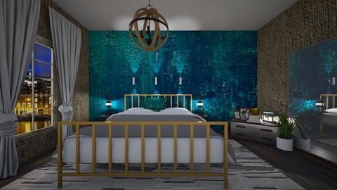 Turqueza - Bedroom - by nanabpf