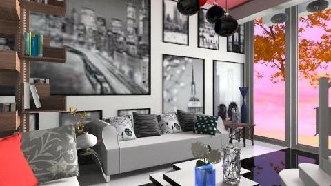 SMART YOO interior - Modern - Living room  - by aarish khan