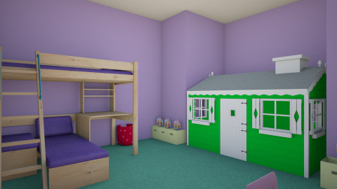 A childs dream nursery - Classic - Kids room  - by indiannaerickson