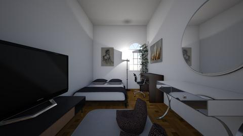 Main Bedroom - Minimal - Bedroom  - by zulfan