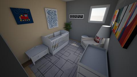 Nursery Example 3 - Kids room  - by mgeiger