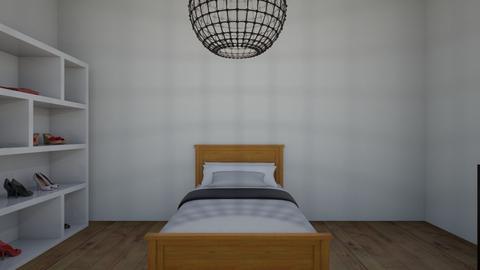 my room - Vintage - Bedroom  - by koutsou