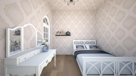 Teen classy room - Bedroom - by Ginaschia